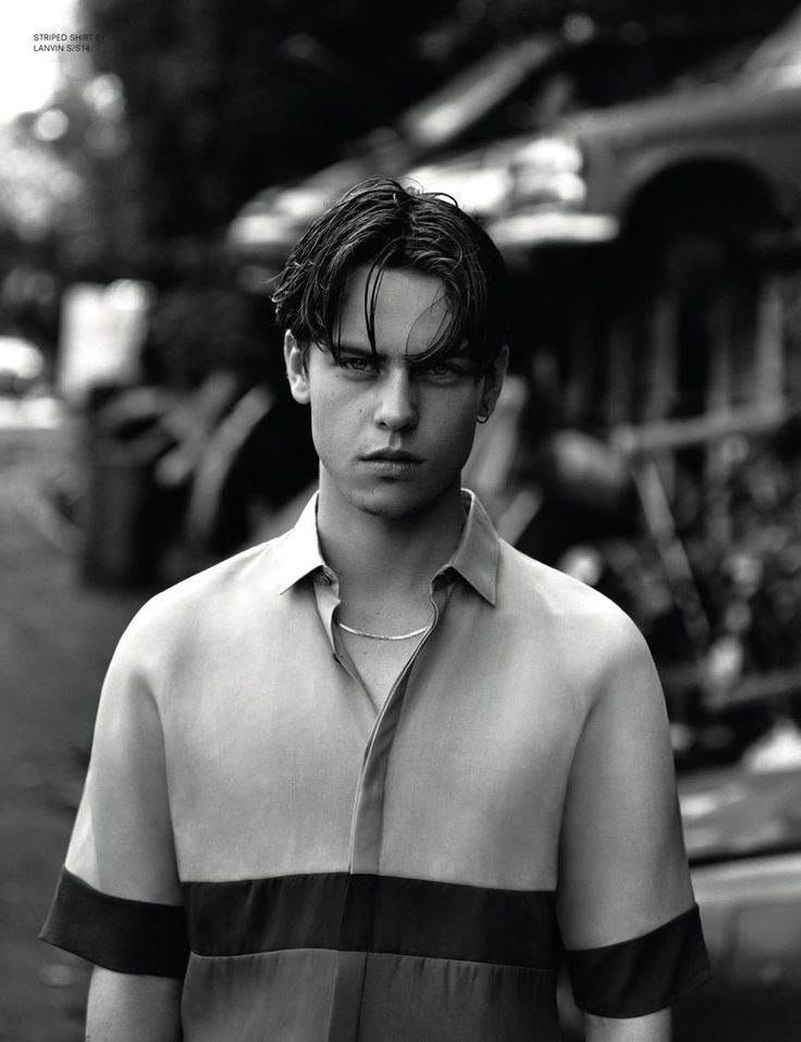 Another Man Magazine - Lust For Youth with model Elias Bender Ronnenfelt