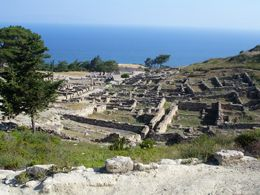 Ancient Kamiros, Rhodes - the best sunset!!!