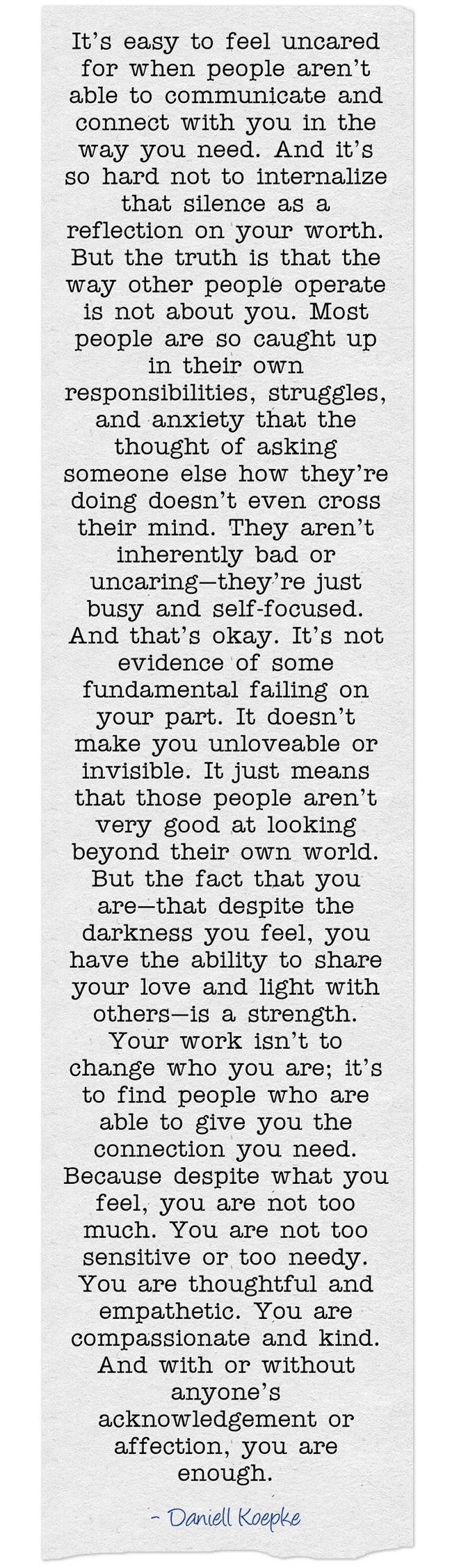 This explains everything that's been going on in my head recently. It's nice to know I'm obviously not the only person who felt/feels this way..