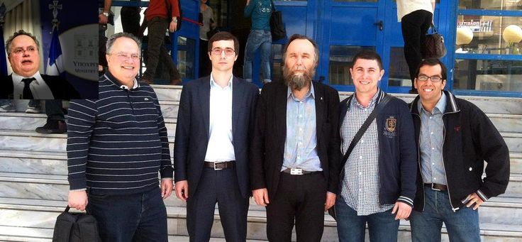 Alexandr Dugin has a foreign minster in the new far left Greek Government - Nikolaos Kotzias.