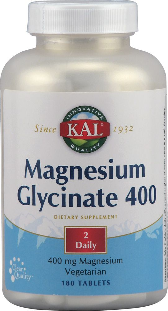 Kal Magnesium Glycinate - miracle supplement. As always, ordered from Vitacost.com #setandsave