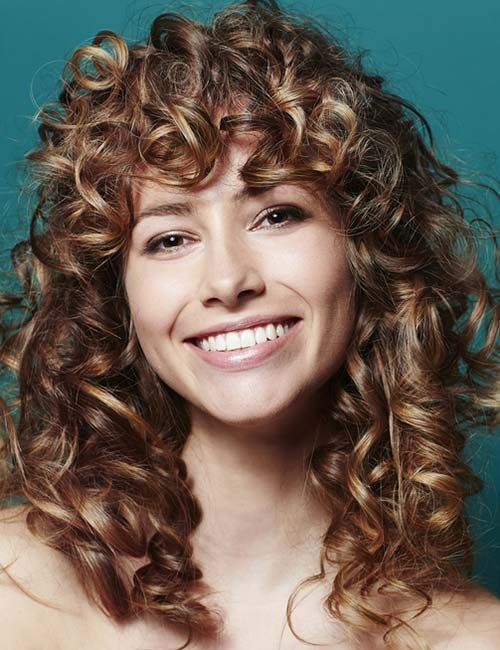 Adorable Layered Curly Hairstyles For Great Style