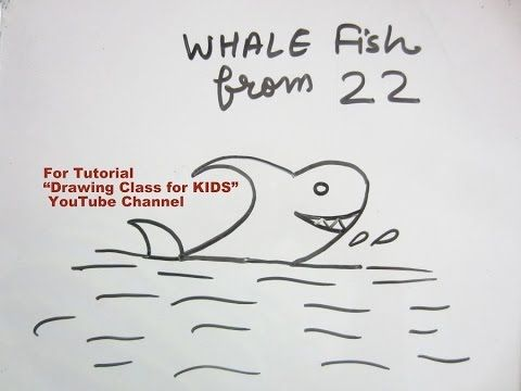"YouTube kids friendly number drawing for kids children tutorial for beginners. Shark from number 22. Search ""Drawing Class for KIDS"" YouTube Channel for more Easy Drawing Tutorials for KIDS. #art #craft #hobby #artist #pencil #DIY #creative #flower #kids #school #project #bestfromwaste #innovative #beautiful #drawing #painting #easy #unique #origami #india #london #paris #canada #bombay #ahmedabad #shark"
