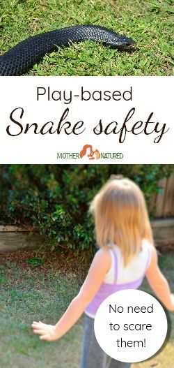 Snake Safety for Kids: no need to scare them! - Mother Natured  #snakes #kidsandsnakes #snakesafety