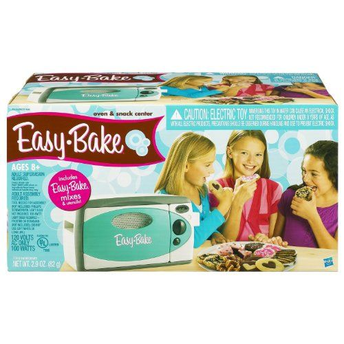 Easy Bake Oven Easy Bake http://www.amazon.com/dp/B001DI4VN0/ref=cm_sw_r_pi_dp_XFkLtb05RHHZVG9E