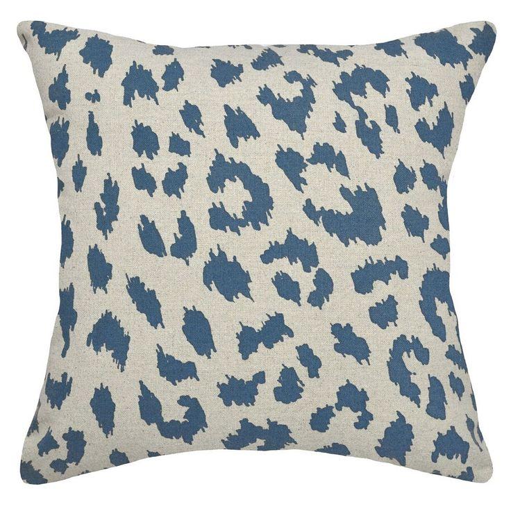 Cheetah Upholstered Pillow | Cheetah Print Pillow | CS065P-NY.20x20