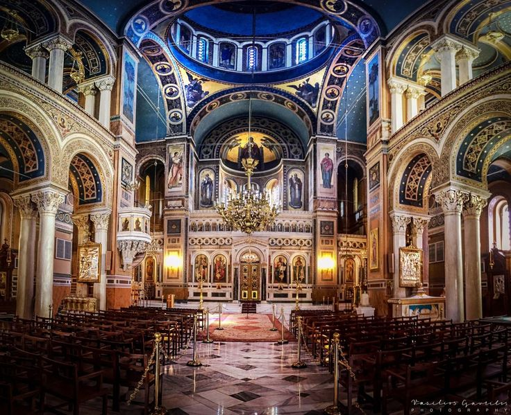 Metropolitan Cathedral of Athens – PHOTOinPHOTO