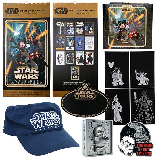 First Look at Star Wars Weekends 2013 Merchandise at Disney's Hollywood Studios: http://di.sn/s3M