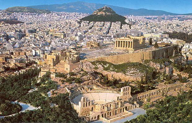 Turismo en Atenas, Grecia