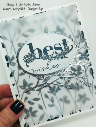 Stampin' Up! Happy Wishes Wedding Card – Stamp It Up with Jaimie
