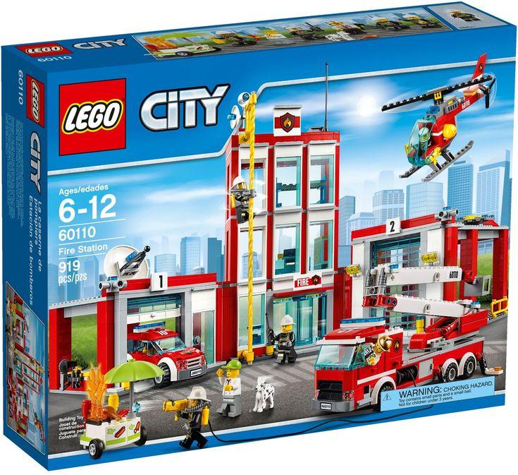 Comparez les prix du LEGO City 60110 avant de l'acheter ! Infos, description, images, vidéos et notices du LEGO 60110 La caserne des pompiers sur Avenue de la brique