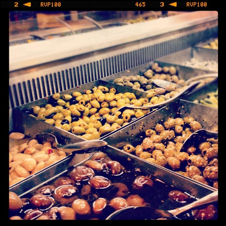 Les olives d'Espagne