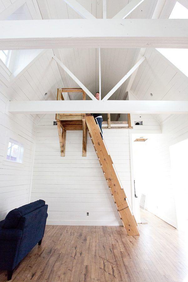 14 Fabulous Modern Attic Ladder Ideas