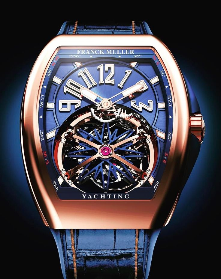 Best watches frank muller yachting
