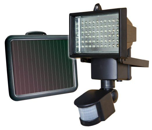 For my next chicken coop to scare off the raccoon in the night. Amazon.com: Sunforce 82156 60 LED Solar Motion Light: Automotive