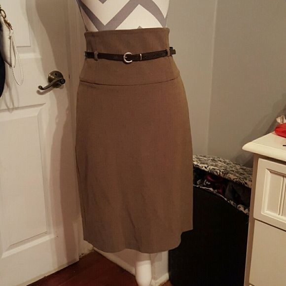 1000 ideas about brown pencil skirts on