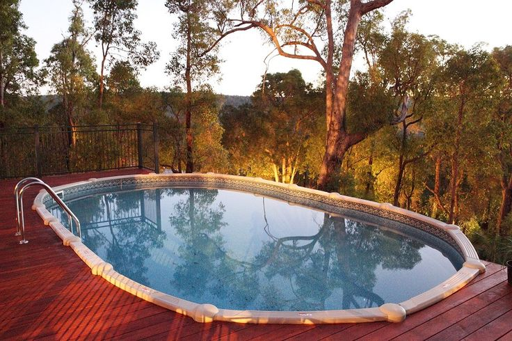 33 best images about above ground swimming pools on - Beautiful above ground pool ...