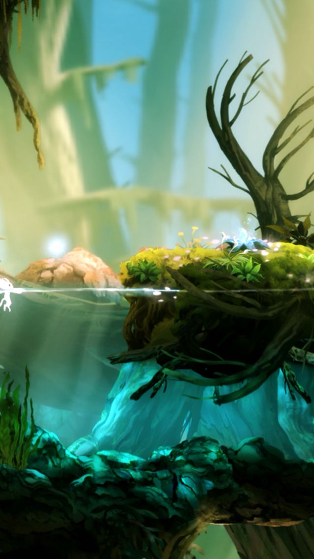 Ori and the Blind Forest, I loved the Water Cleansed scene it was beautiful and music just made 10x's more gorgeous.