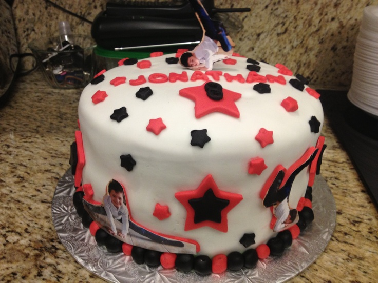 Dance theme birthday cake