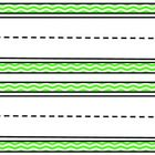This set of green chevron name plates would add some fun to any classroom and go great with any theme! Each 8 1/2 by 11 page has two nameplates. Th...