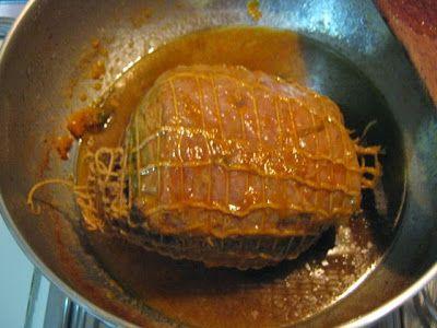Pane cunzato: dire, fare e mangiare: Arrosto con crema di carote e...