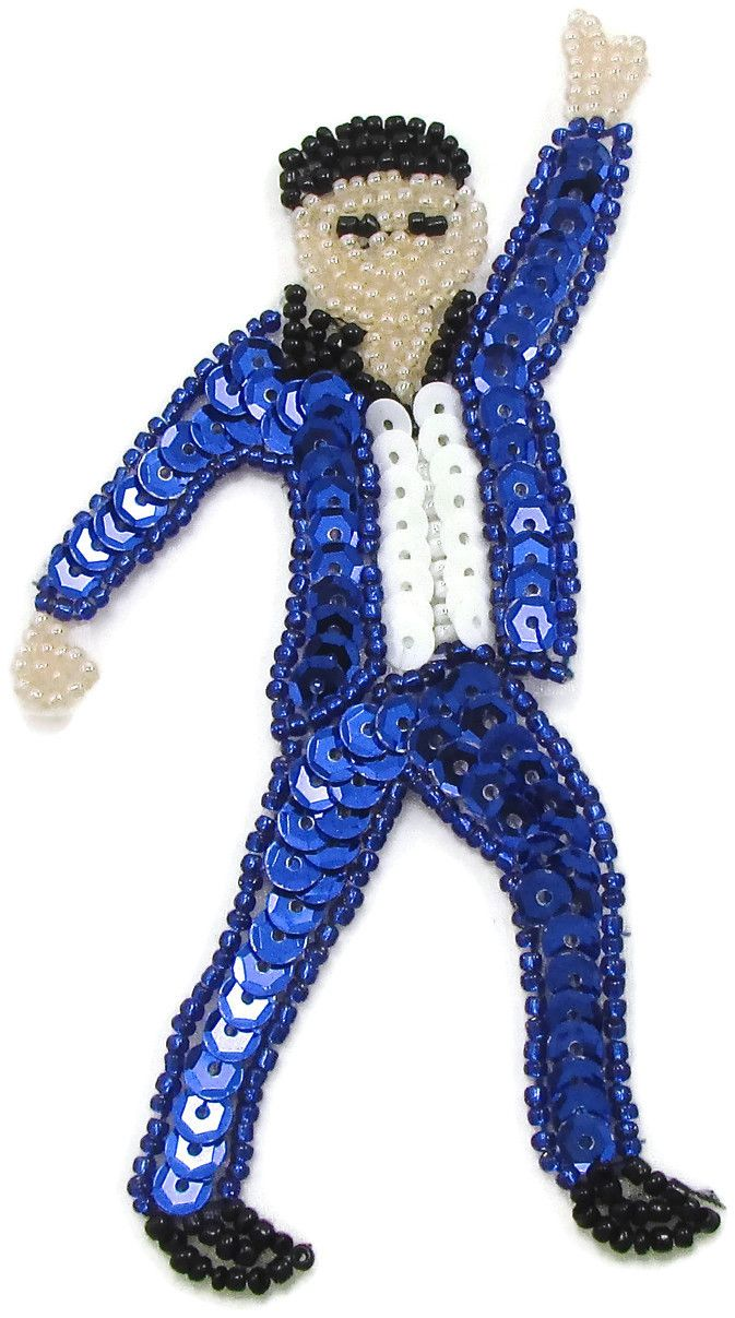 "Man Dancing Emoji 5"" x 2.5"""