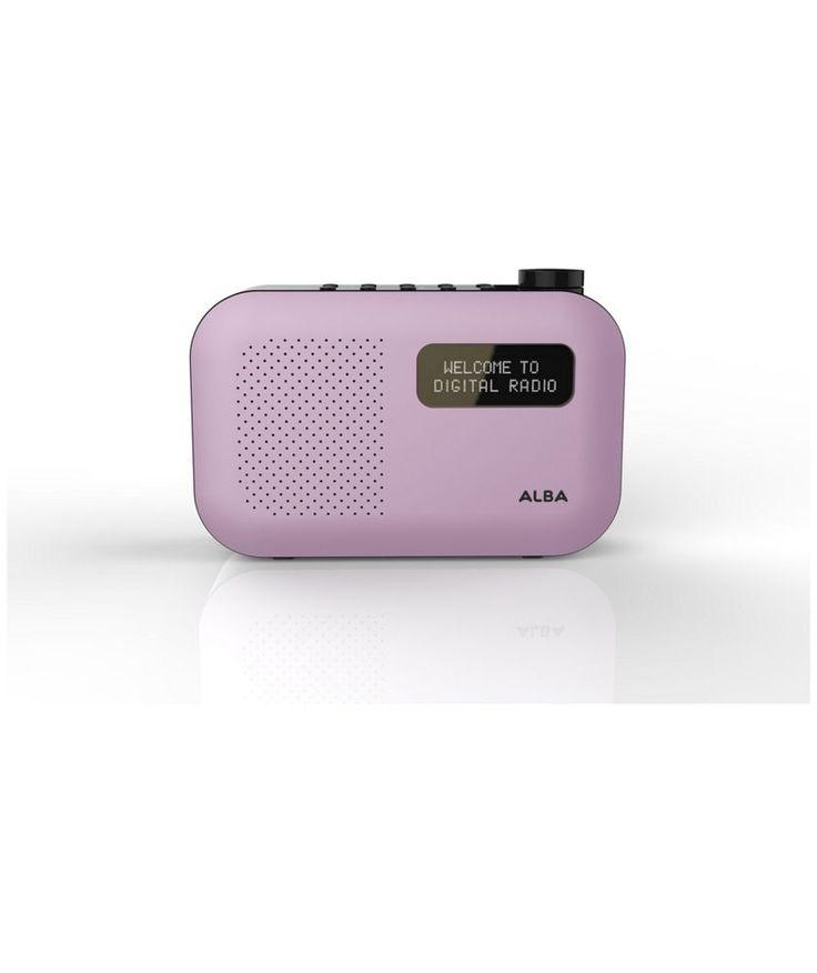 Buy Alba Mono DAB Radio - Pink at Argos.co.uk - Your Online Shop for Radios.