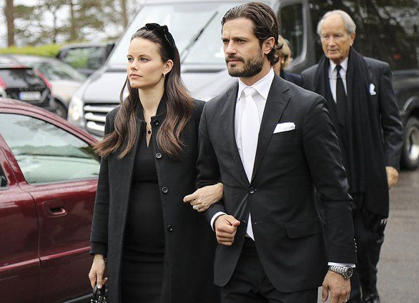 11 May 2017 - The Swedish Royal Family attends Niclas Silfverschiöld's Funeral
