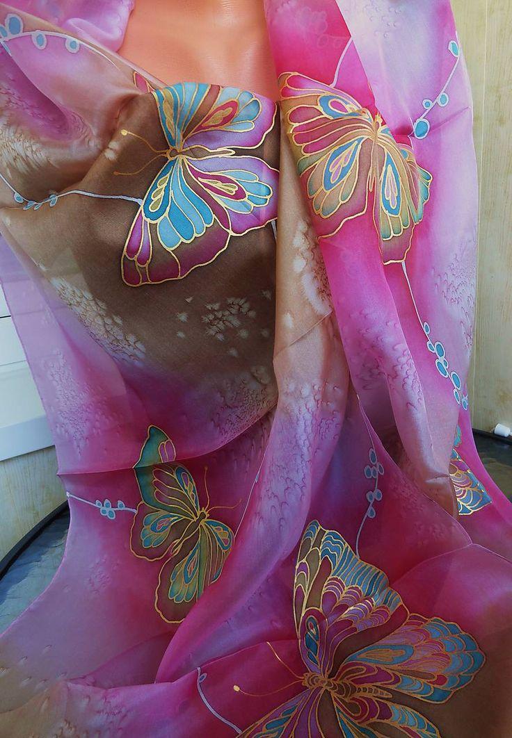 Šatky - motýle - 8050399_