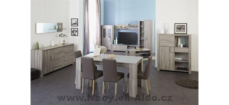 Nábytek do jídelny i obývacího pokoje Waren 0124