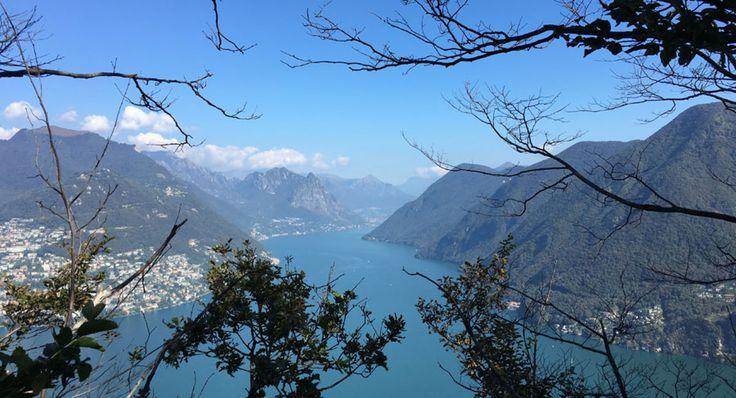 Monte San Salvatore | Top of Lugano | Panorama