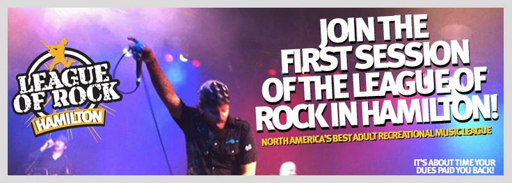 Hamilton Grownups Who Rock!  www.LeagueOfRock.com