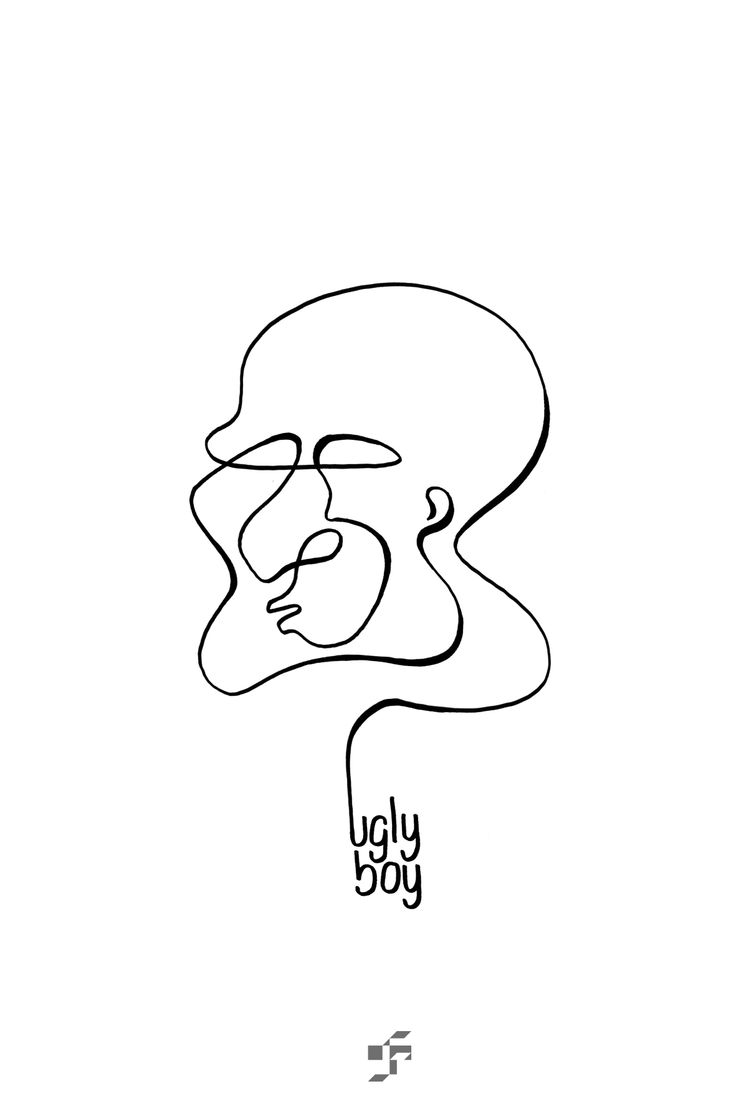 Ugly Boy - Line Face - http://typeforce.org/
