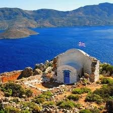 on kalymnos in greece