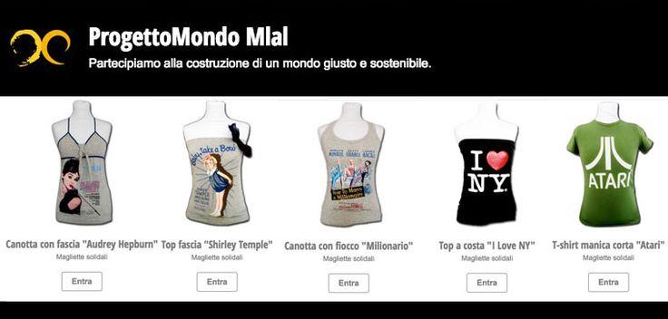 #progettomondo #magliettesolidali #fixdesign #madai #sconti #offerte #madaiAID