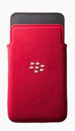 Buy BlackBerry Microfibre Slip Pouch for BlackBerry Z10 - Red NEW for 6.99 USD | Reusell