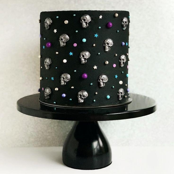 12 Inch Round Modern Metal Wedding Cake Stand Black Savoury Cake Cake Metal Wedding Cake Stands