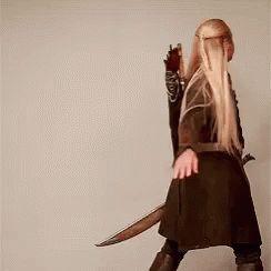Legolas beeing an oddball :D