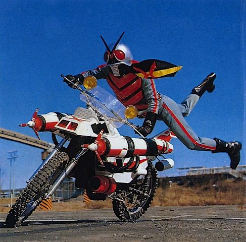 I don't want to say the fly was big, but he stole my motorcycle.
