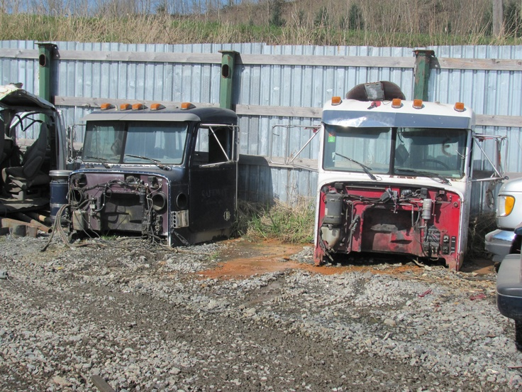 Used Semi Truck Parts  34314 vye Road Abbotsford BC  Monday-Friday 8am-5pm. Saturday 8:30am-4:30pm http://www.captncrunch.ca