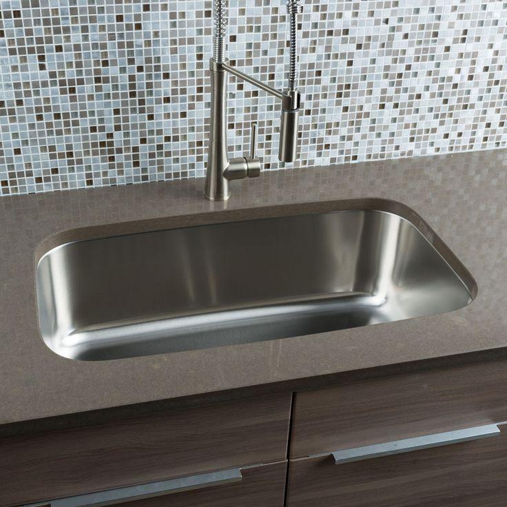 Classic Chef 31 5 L X 18 38 W Undermount Kitchen Sink Large