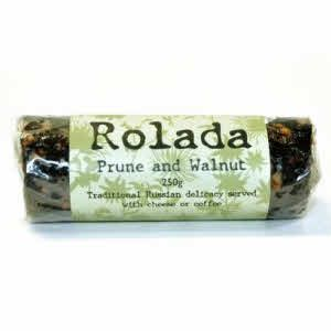 Rolada - Prune & Walnut 250g  buy online at Jo-Ann & May's Online Gourmet Food www.jomaysgifthampers.com.au