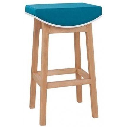 Barová židle Melia, modrá