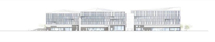 Image 19 of 20 from gallery of New office building for Nordea Bank / Henning Larsen Architects. elevation