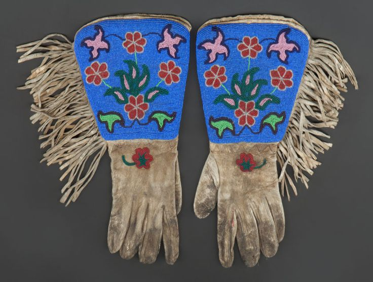 809 best traditional beadwork images on pinterest for What crafts did the blackfoot tribe make