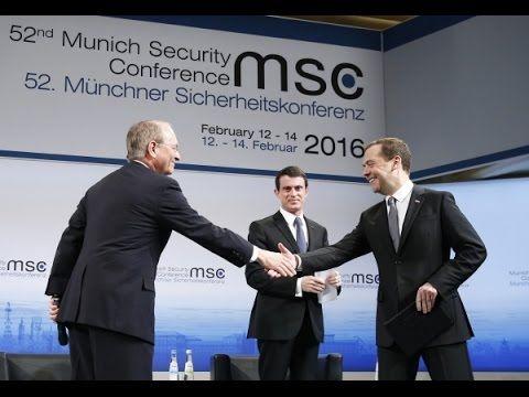 Речь Дмитрия Медведева в Мюнхене