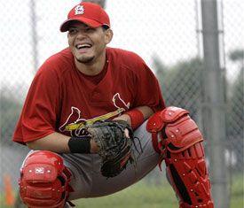 Yadier Molina...awesome catcher
