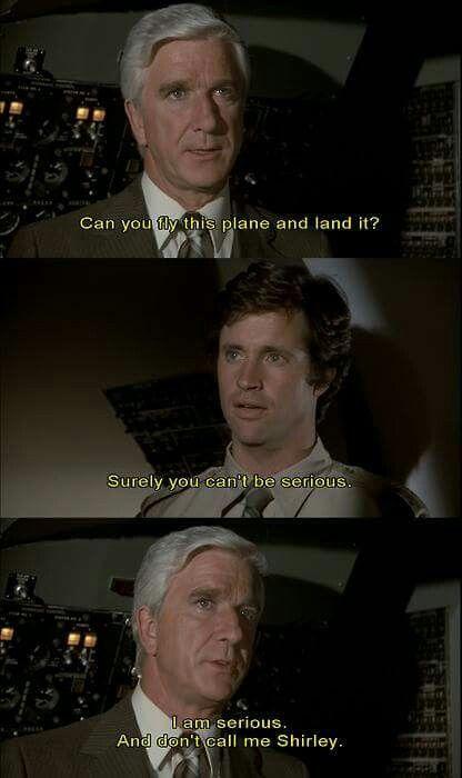 Airplane Movie Autopilot Quote