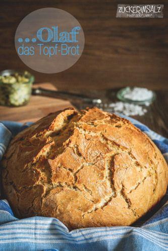 Olaf ... das Topf-Brot, gestestet => einfach zu machen, schöne krume, krachige Kruste = Supi!